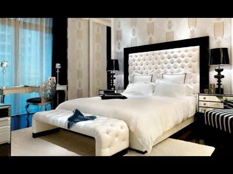 chambre a coucher moderne 2017 youtube. Black Bedroom Furniture Sets. Home Design Ideas