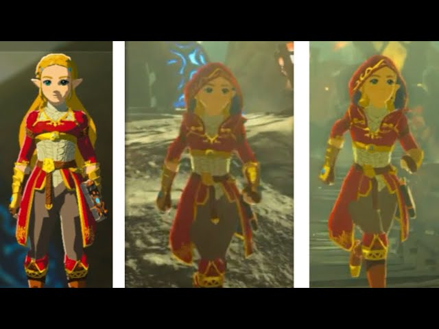 Play as Zelda in Breath of the Wild with the Zelda Conversion