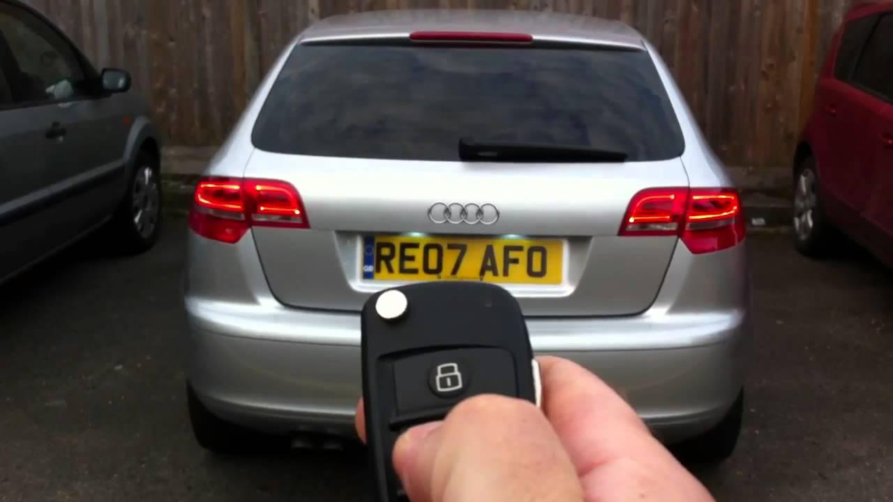 Automatyczne Otwieranie Bagażnika Audi A3 Sportback Youtube