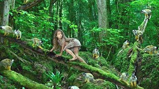 Эту девочку вырастили обезьяны, посмотрите как она выглядит много лет спустя. История Марины Чапман