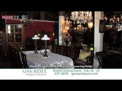 Goss Avenue Antiques - Grand Closing Event