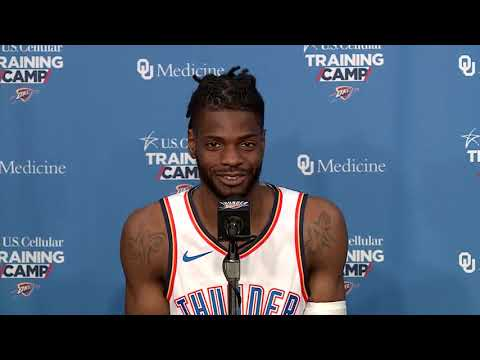 Thunder Media Day: Nerlens Noel