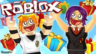 LLUEVEN REGALOS DEL CIELO! | THE PLAZA ROBLOX | CRYSTALSIMS