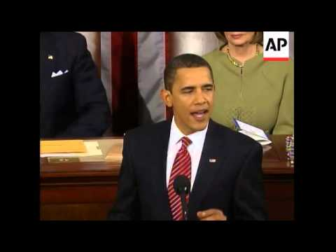 President Obama pledges to end get our troops out of Iraq, remain vigilant in Afghanistan and increa