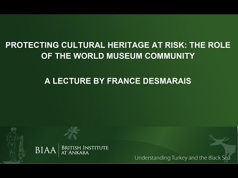 France Desmarais: Protecting Cultural Heritage at Risk
