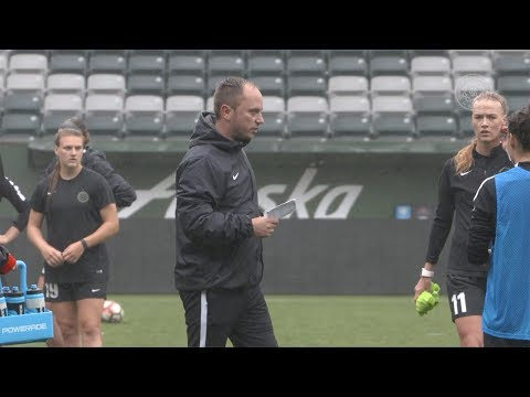 Thorns FC Training | Mark Parsons, Christine Sinclair | June 2, 2017