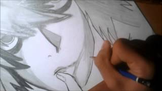 """How to draw: """" L [Death note] """"  Hard dubstep remix"""