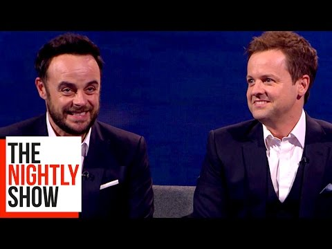 Ant and Dec had a Party with Prince Charles