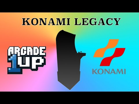 Konami Legacy Cabinet Arcade1Up from Original Console Gamer