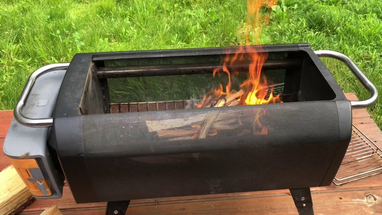 Biolite Fire Pit.Biolite Firepit Review And Demo
