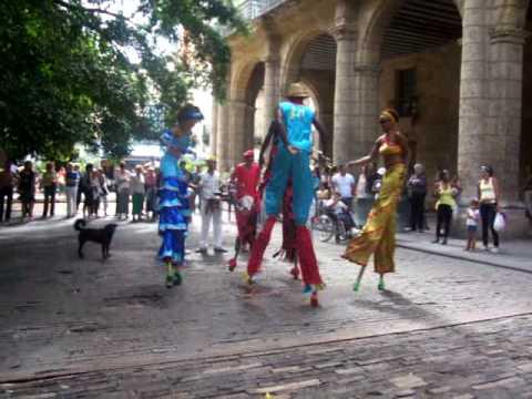 Havana street dance