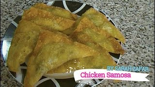 Chicken Samosa (indian Cuisine)
