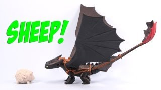 How to Train Your Dragon Toothless Night Fury Defenders of Berk Toy