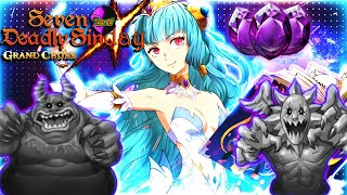 HELL DEMON RAIDS + PVP \u0026 maybe TRAINING CAVE! Sin-Day Returns [LIVE] | Seven Deadly Sins Grand Cross