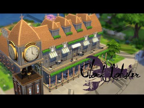 CLOCK LOBSTER - Steampunk Seafood Restaurant Speed Build