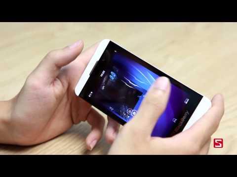 Khả năng giải trí trên BlackBerry Z10 - CellphoneS