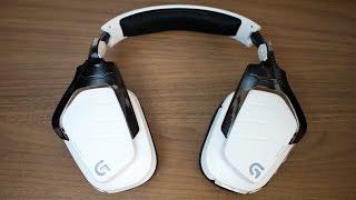Logitech G933 Artemis Spectrum Wireless Headset Review / Test