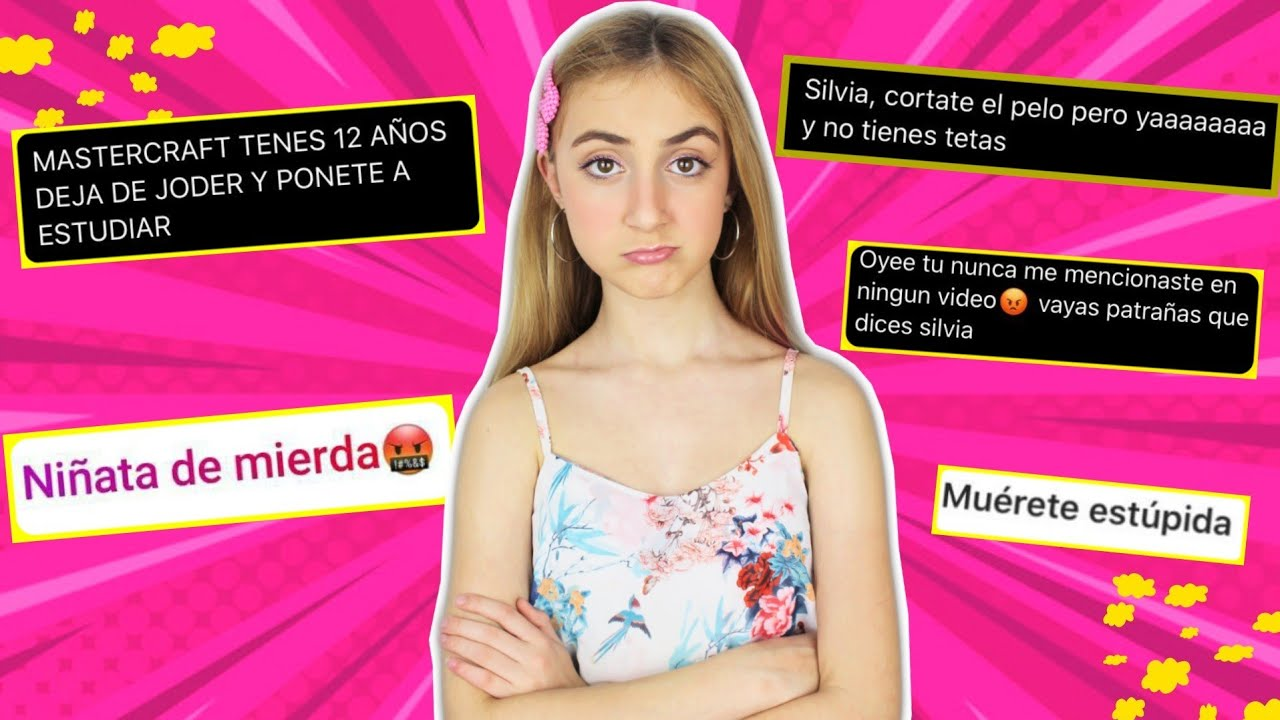 RESPONDIENDO A HATERS | REACCIONO A MENSAJES DE ODIO - Silvia Sánchez