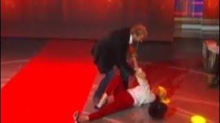 La vita in diretta: Brutta Caduta in diretta per Lorella Cuccarini! Come sta la showgirl