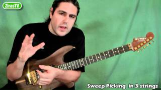 Sweep Picking in 3 Strings | Lick of the Week 99