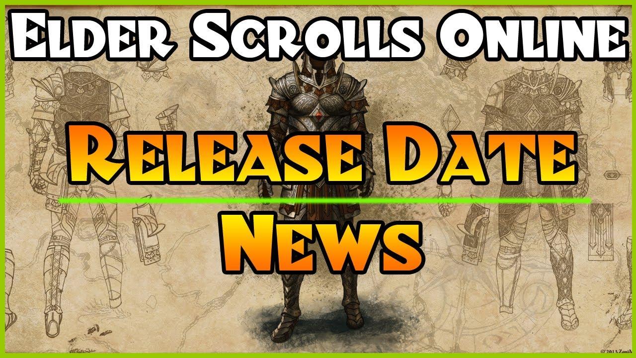 Elder scrolls online launch date
