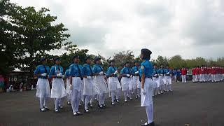 Peleton SMP 2 Semanu, Peleton Terbaik putri LBB Gunungkidul 2017 Part1