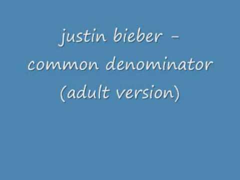 Justin Bieber - Common Denominator Lyrics   MetroLyrics