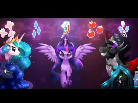 MLP:fim king sombra and the mane 6 tribute The Resistance