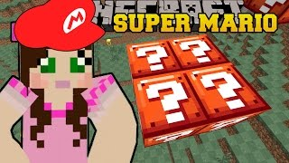 Minecraft: WORLD OF SECRET BLOCKS! - SUPER MARIO BROS - Custom Map [7]