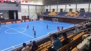 Trực tiếp Futsal nữ: Việt Nam - Thái Lan (hiệp 2)