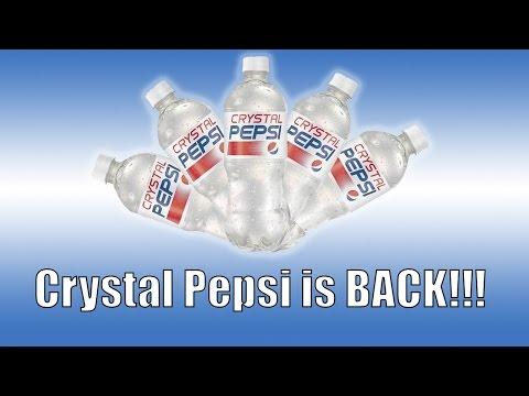 CRYSTAL PEPSI IS BACK EARLY!!!!!