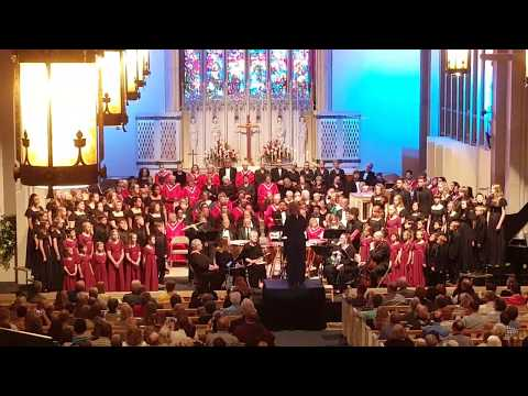 """""""Come to the Music"""" by Opera Idaho Children's Chorus at Church Night during Boise Music Week 2018"""