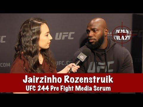 "Jairzinho Rozenstruik on Andrei Arlovski ""Im going to show you some things"" at UFC 244"