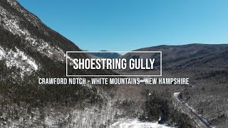 Shoestring Gully Solo Ice Climb - White Mountains, New Hampshire