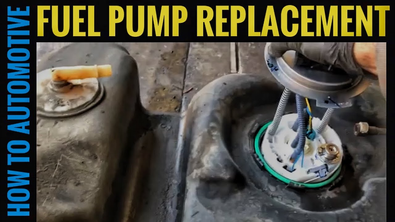 howtoautomotive automotiverepair fuelpump [ 1280 x 720 Pixel ]