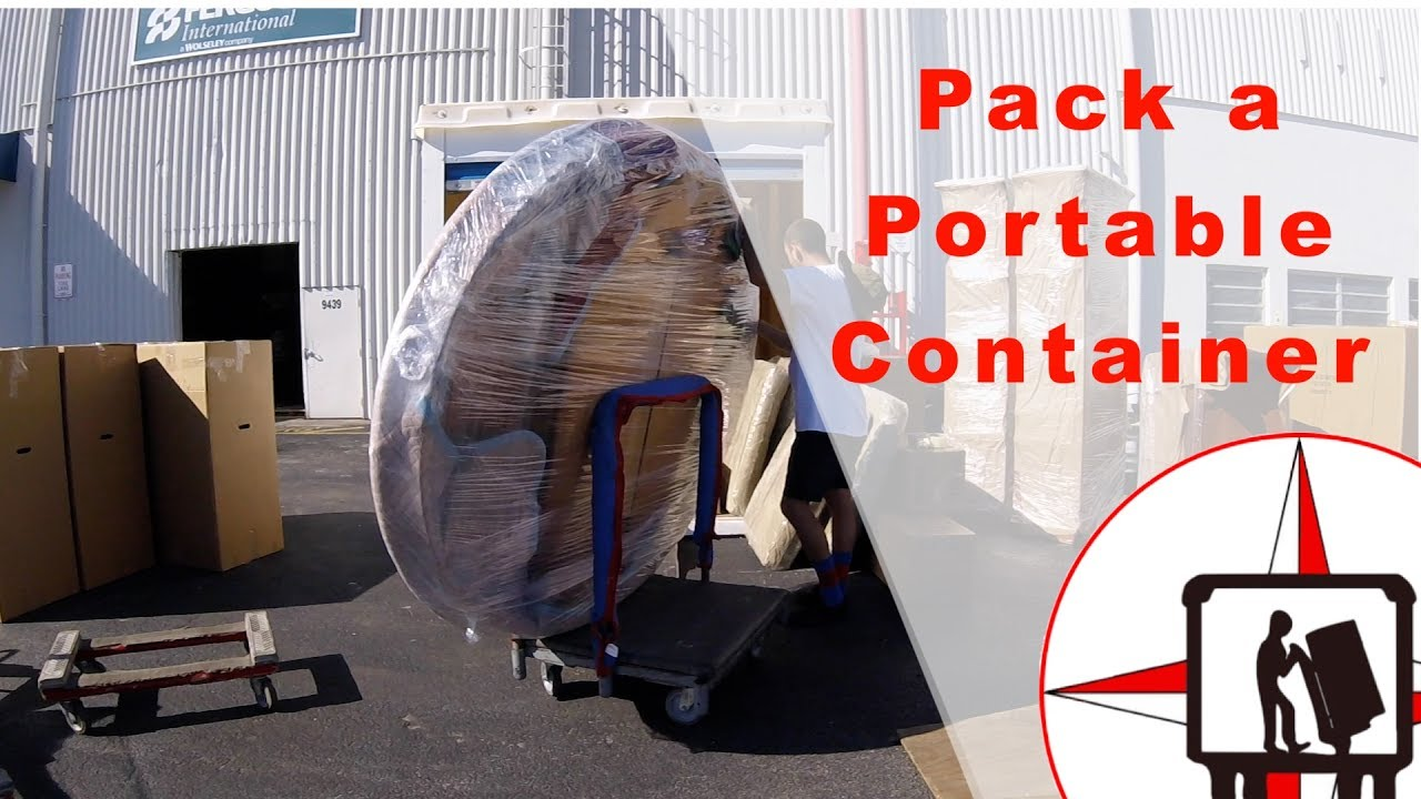 how to load a pods container