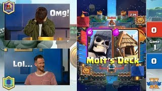 Molt VS Ted | Clash Royale King's Cup 2017 - $200,000 Clash Royale Tournament - Day 2