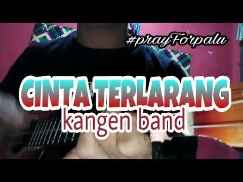 Kangen Band -Cinta Terlarang #prayForpalu Cover Ukulele Senar 3 By NanDi Castem