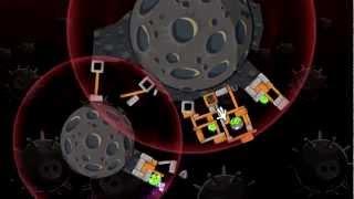 """Angry Birds Space PC - Прохождение(часть 3) Планета """"Danger Zone"""""""