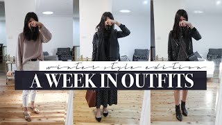 A Week in Outfits #9 - My Winter Style and What I