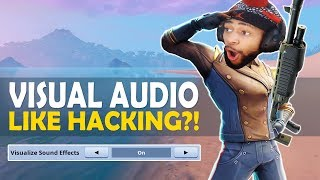 VISUAL AUDIO LIKE HACKING IN FORTNITE!?