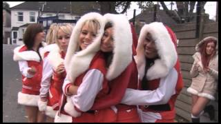Behind the Scenes - Crystal Palace Cheerleaders Christmas video shoot