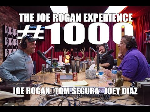 Joe Rogan Experience #1000 - Joey Diaz & Tom Segura
