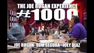 Joe Rogan Experience 1000 - Joey Diaz  Tom Segura