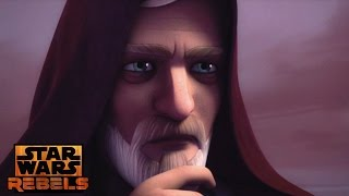 Star Wars Rebels: Obi Wan Watching Luke Skywalker