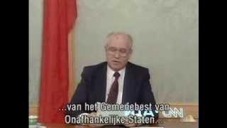19 December Michail Gorbatsjov (1991)