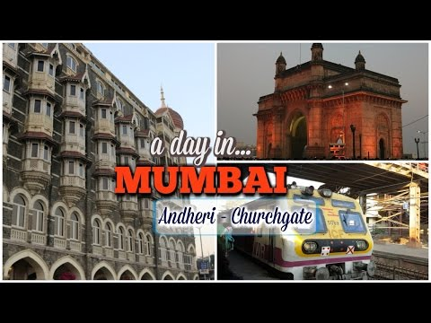 A Day in Mumbai | Mumbai Vlog | Andheri To Churchgate | Travelling in Mumbai Local