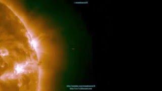 هواة يرصدون سفنا فضائية بالقرب من سطح الشمس (فيديو)