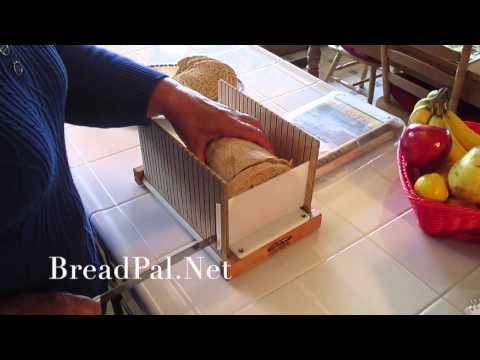How To Slice Bread With The Bread Pal Bread Slicing Guide