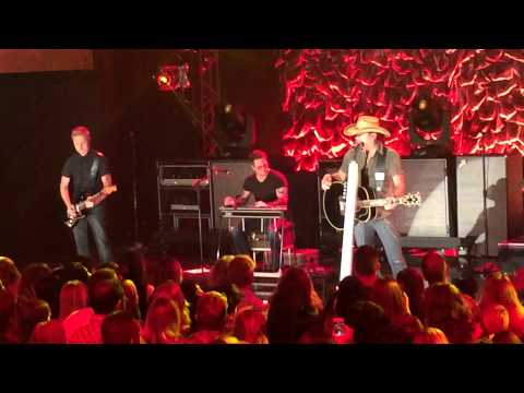 Jason Aldean Two Night Town Played At IHeart Theater In Los Angeles 9/29/14